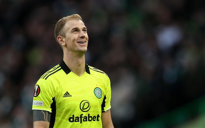 Image for We couldn't let them down- Joe Hart's tribute to Celtic's daytime support