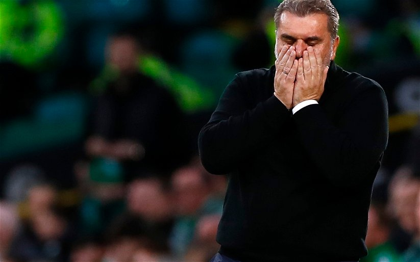 Image for 'Scottish sports journalistic stupidity?' 'When Ange calls you mate' 'big man should chase them out the door' Fans loving it as Ange bites back